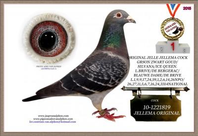 10-1221819 JELLEMA ORIGINAL COCK
